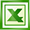 application/vnd.ms-excel icon